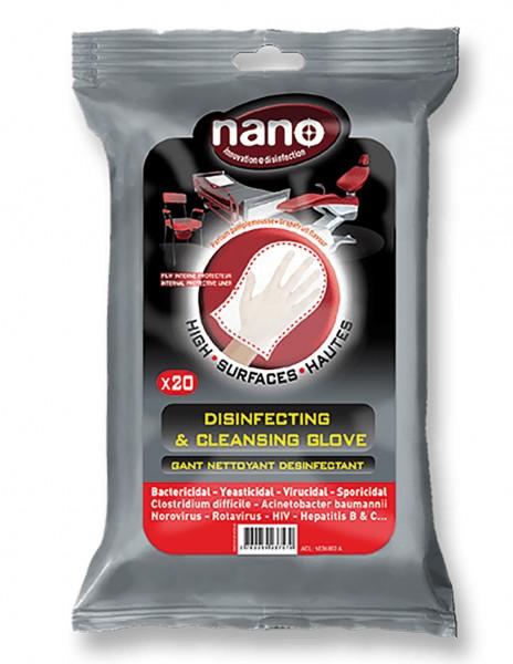 nano Desinfektions- und Reinigungshandschuh