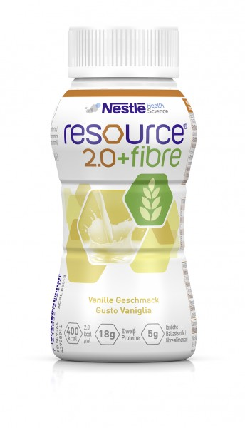 Trinknahrung, Nestlé HealthScience Resource 2.0 + fibre (6 x 4 x 200 ml)