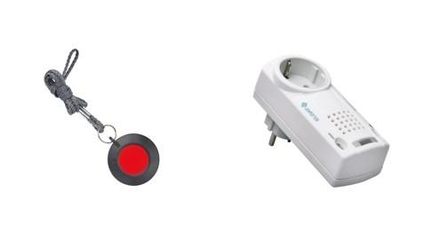 EASYWAVE Pflegeruf-Set RS11 Halsbandsender, ohne Quittierung