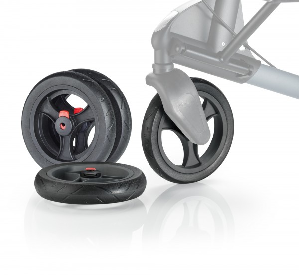 Komforträder Soft Set, abnehmbar für TOPRO für Troja 2G, Odysée