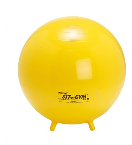 Gymnic sit 'n' gym - Sitzball mit Füßen