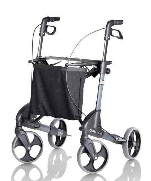 TOPRO Troja S silber - Leichtgewicht Rollator