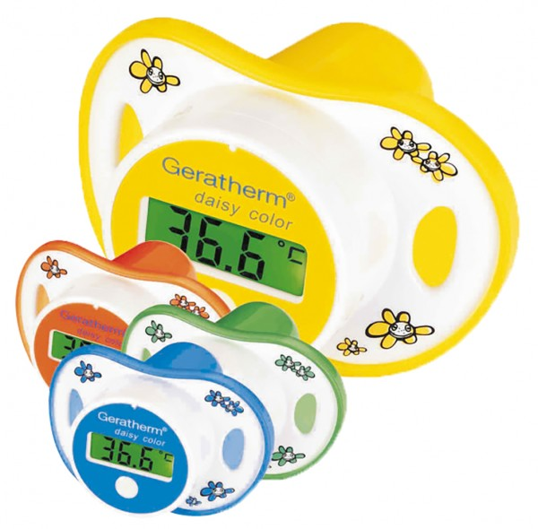 GERATHERM Schnullerthermometer DAISY COLOR
