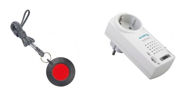 EASYWAVE Pflegeruf-Set RS19 Halsbandsender, mit Quittierung