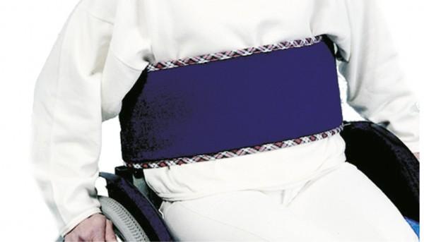 Rollstuhl-Haltegurt, Schnellverschluss