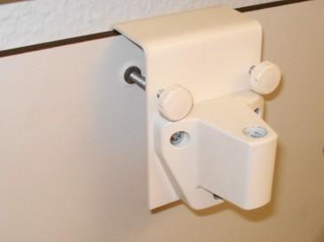 SIS Bettrückwandklemme für LED-Bettleuchte