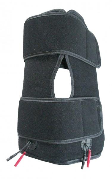 Knieschmerzmanschette für TENS-Geräte