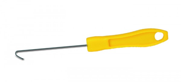 Reißverschlusshilfe mit Haken, gelb