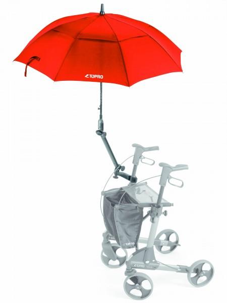 Schirm mit Multifunktionsarm für TOPRO-Rollatoren
