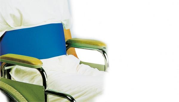 Rollstuhl-Haltegurt, Klettverschluss