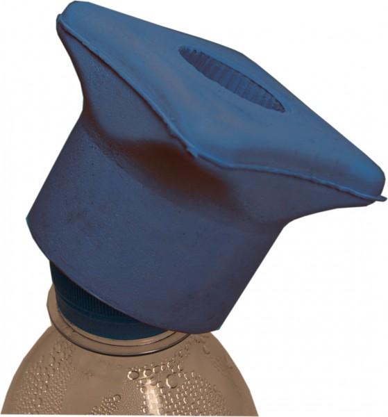 Schraubverschlussöffner, blau