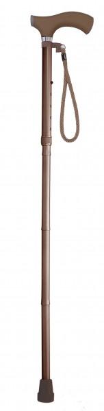 Faltstock mit Silikon-Komfort-Griff