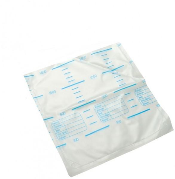 Urin-Bettbeutel ohne Abflussventil + Rücklaufsperre
