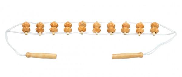 Massage-Rückenrollband, Holz