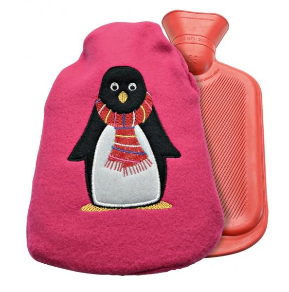 Kinder-Wärmflasche mit Flauschbezug