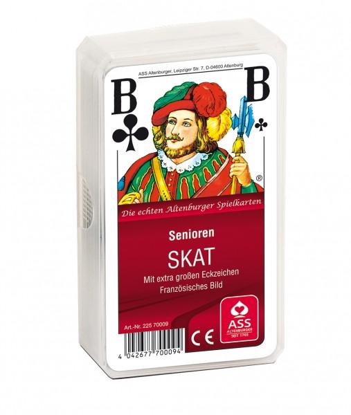 """Spielkarten """"SKAT"""", extra große Zeichen"""