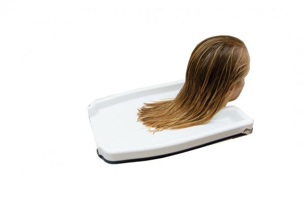 Haarwasch-Tablett